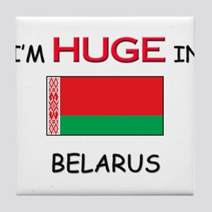 I'd HUGE In BELARUS Tile Coaster
